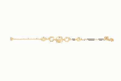 Emblem Bracelet Yellow Gold