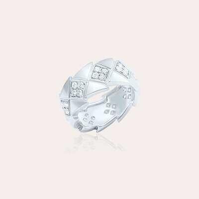 Bridal Ring White Gold & Diamond