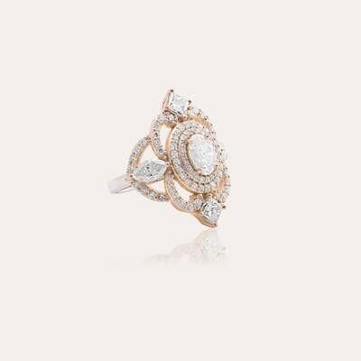 Classic Ring Diamond & Fancy
