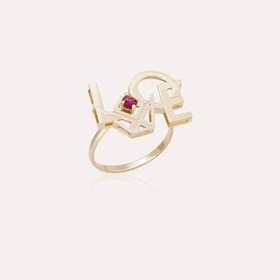 Love Ring Gold