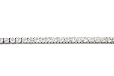 Tennis Wedding Diamonds Bracelet