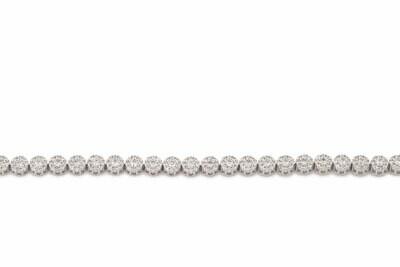 Bridal Round Diamond Tennis Bracelet