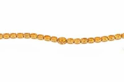 Classic Bracelet Yellow Semi Precious