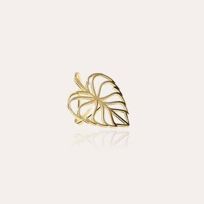 Leaves Ring Gold