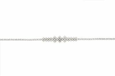 Bridal Bracelet White Diamond