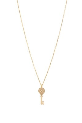 Love Gold Key Necklace