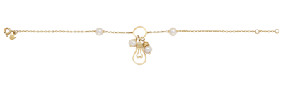 Light Bracelet Gold with Pearls