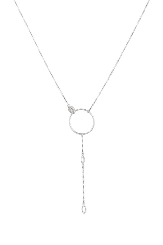 Eternal Necklace White Gold and Diamond