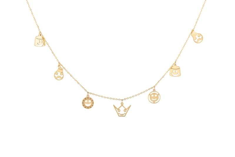 Necklace Gold Emblem Tarboush Designs