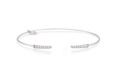 Eternal Bracelet White Gold Diamond