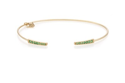 Eternal Gold Bracelet with Emerald