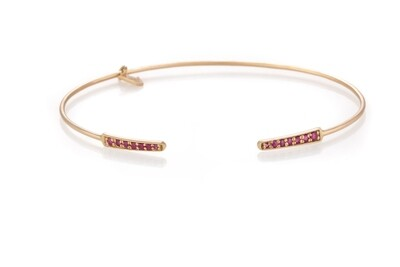 Eternal Gold Bracelet with Ruby