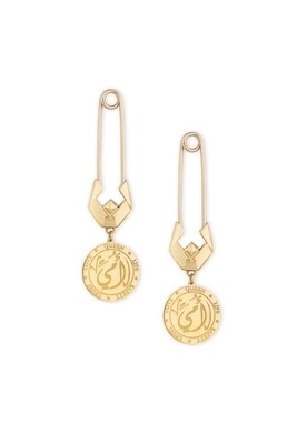 Tribute Gold Earrings