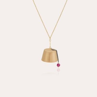 Tarboush Gold Necklace