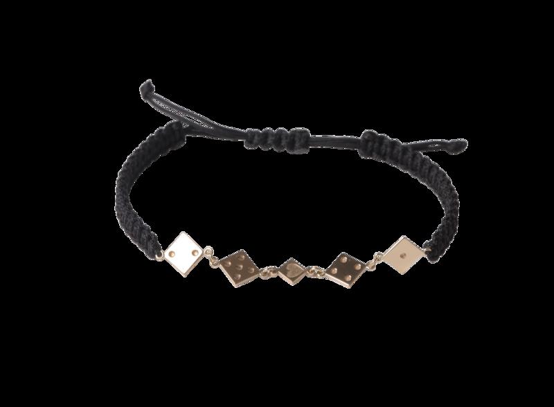 Shamballa Gold Bracelet