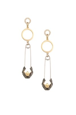 Tribute Diamond Earrings