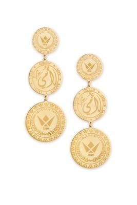 Tribute Gold Earrings