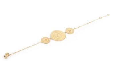 Tribute Gold Bracelet