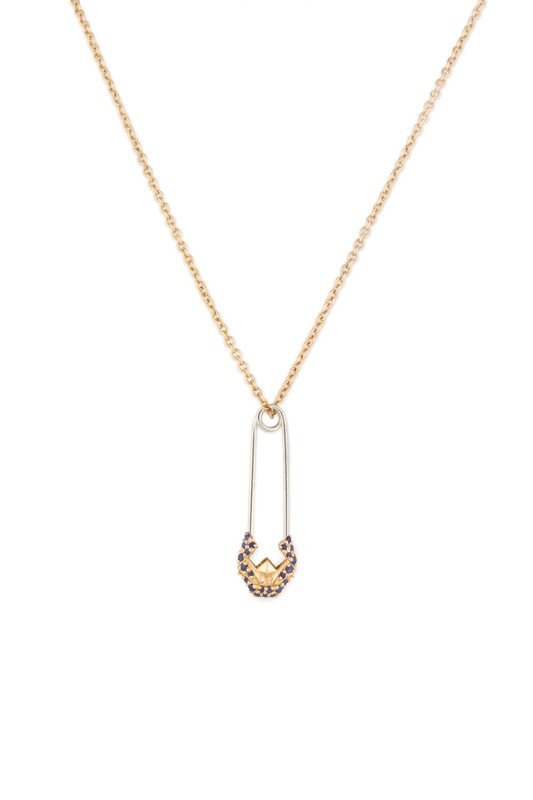 Tribute Gold Necklace with Fancy Diamond