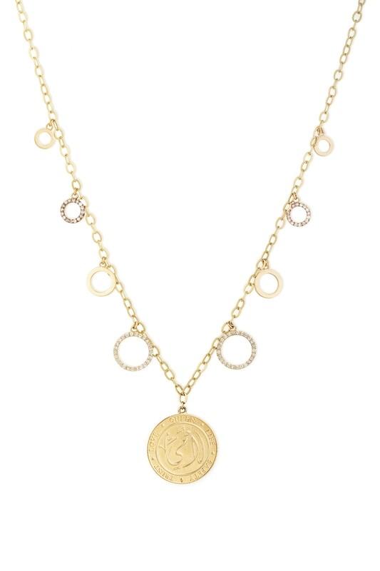 Tribute Diamond Necklace with Fancy Diamond