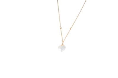 Eternal Gold Necklace with Pearl