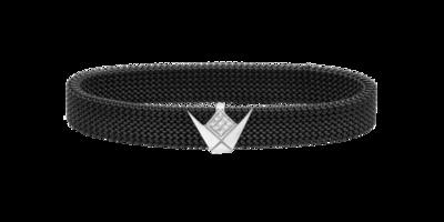 Emblem Diamond Bracelet Stainless