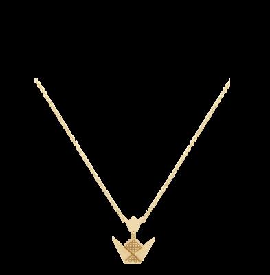Emblem Gold Necklace