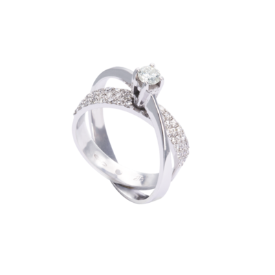 Wedding Band Solitaire Diamond