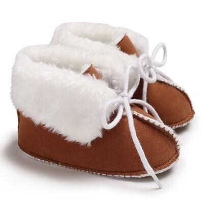Furry Lace Shoes