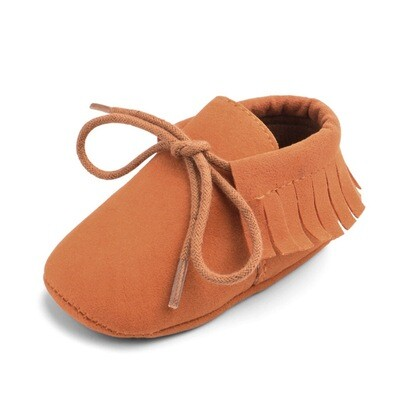 Terracotta Fringed Shoes
