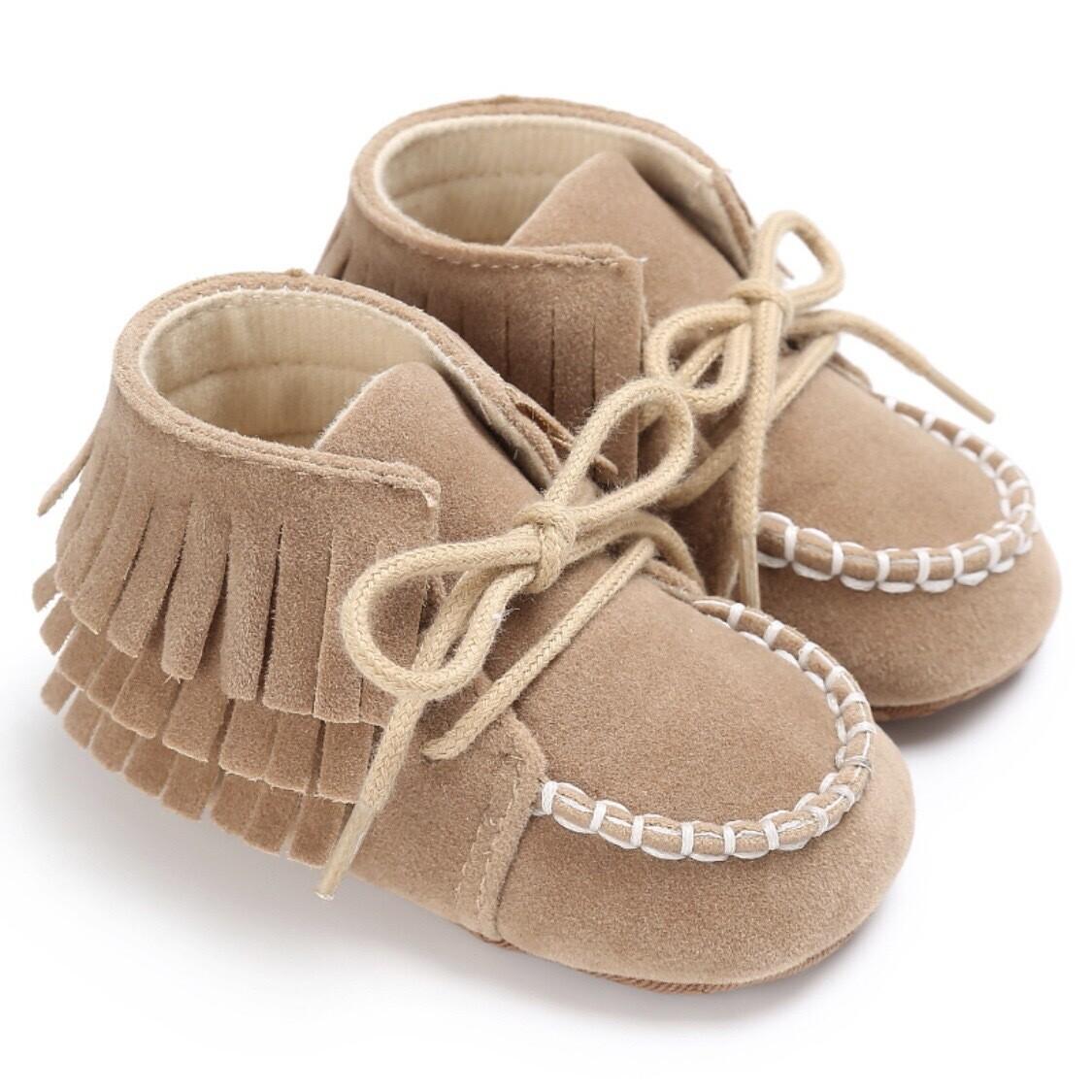 Layered Fringed Shoes