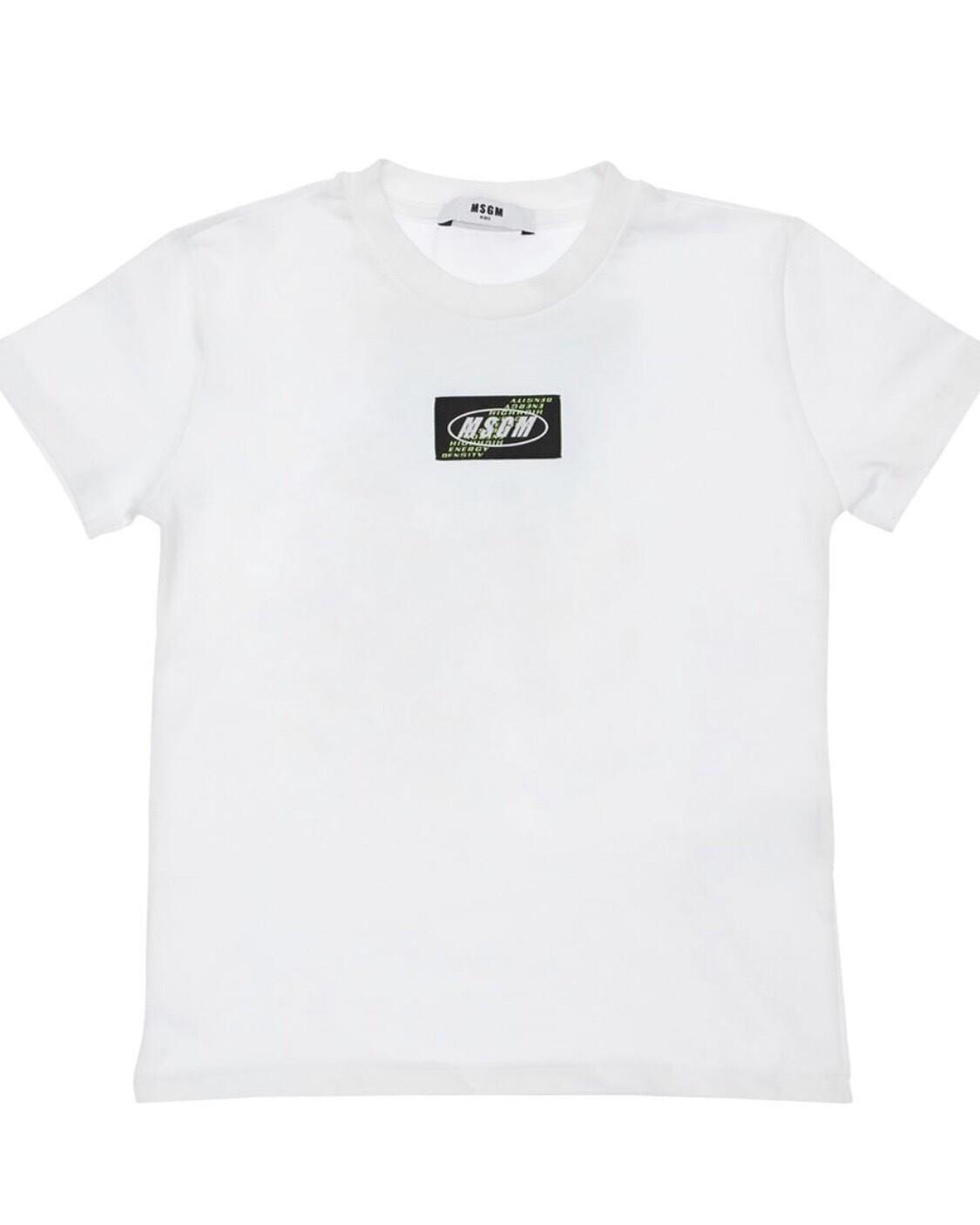 MSGM Back Patch T-Shirt