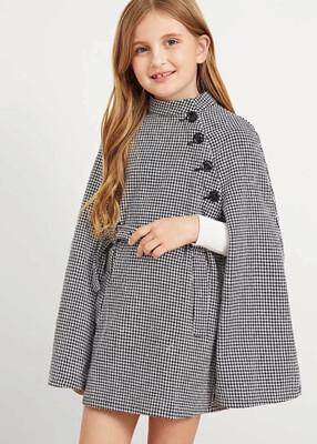Cape Coat Dress