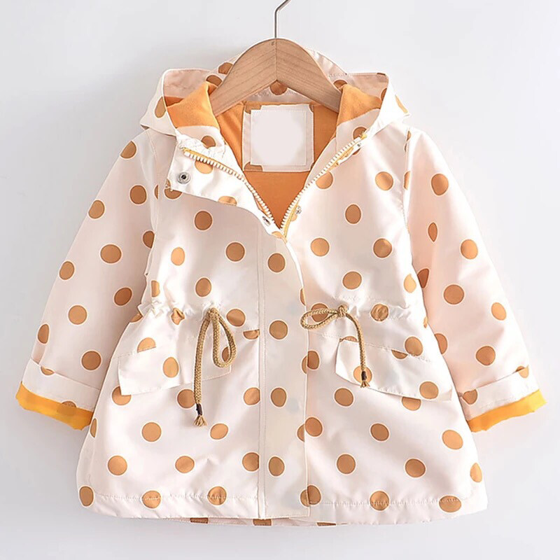 Polka Dots Rain Coat