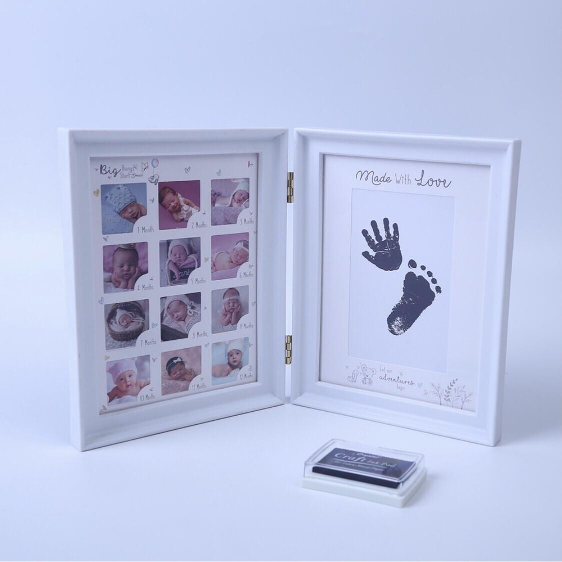 Baby's Print Memory Frame