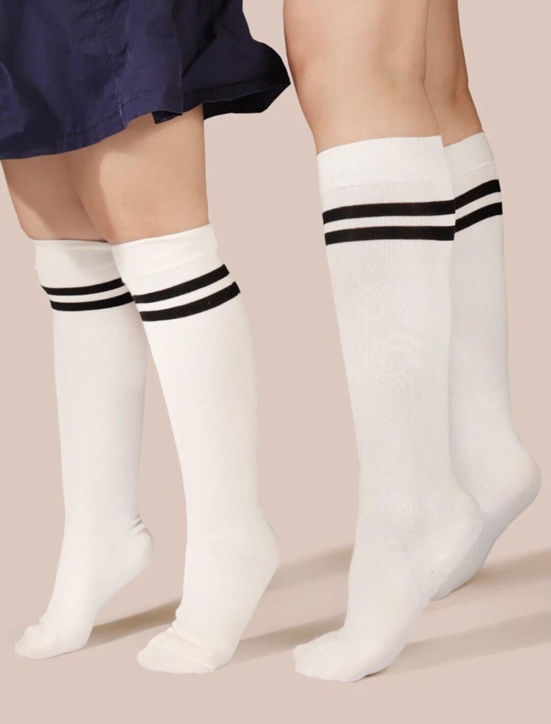 Lined Knee Socks