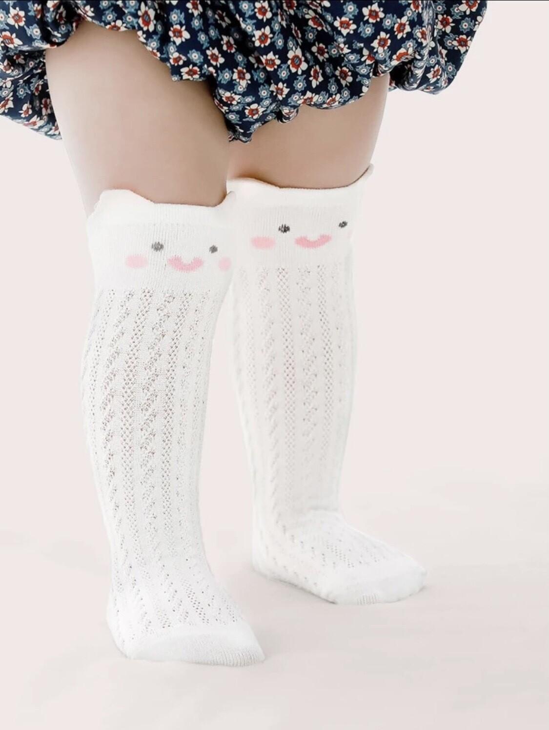 Baby Cat Knee High Socks