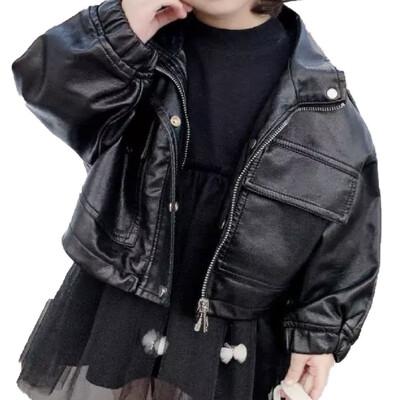 Oversized PU Leather Jacket
