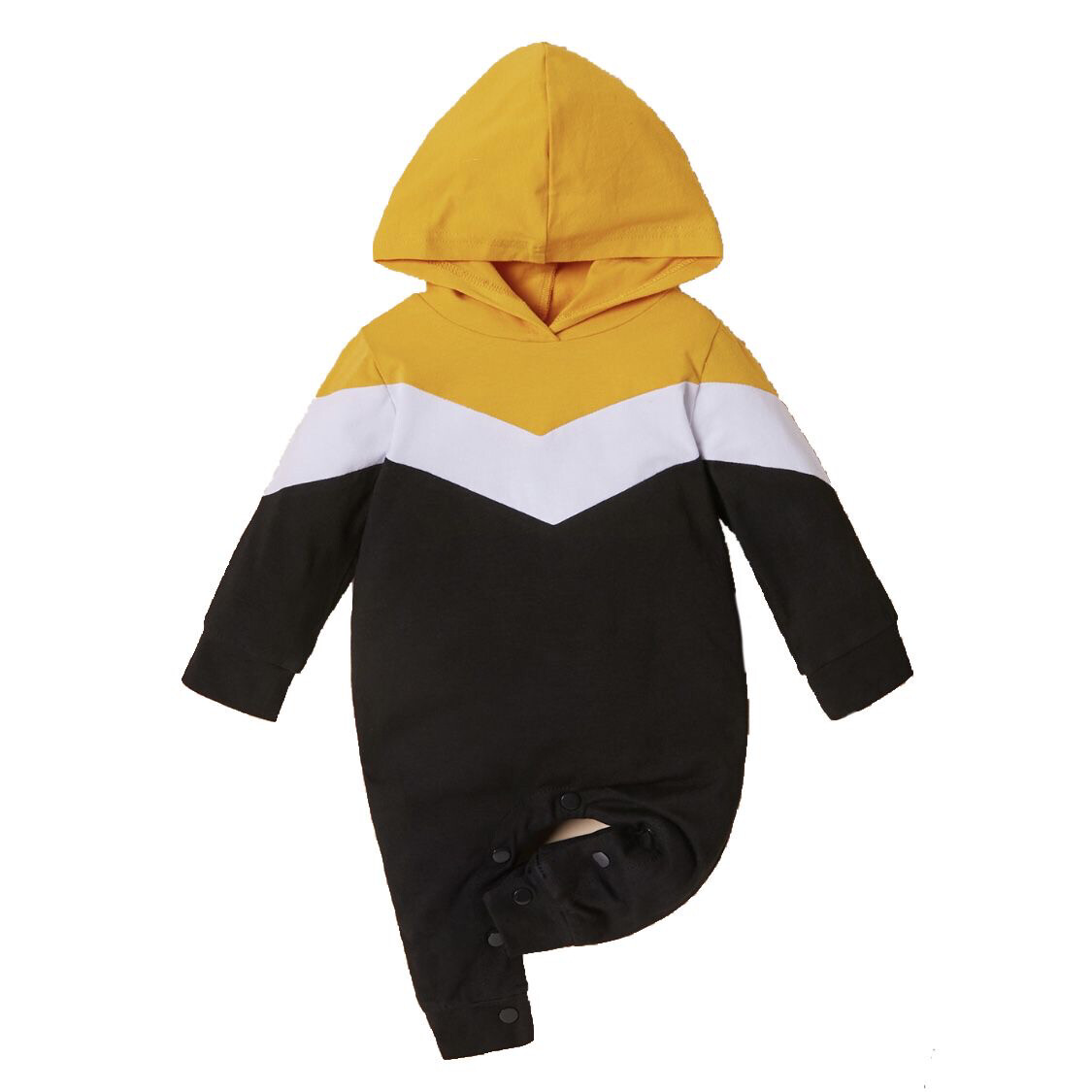 Hooded Sweater Romper