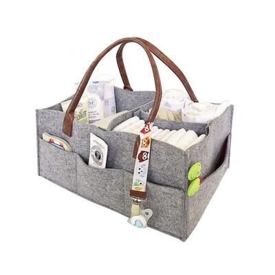 Portable organizer baby divider bag