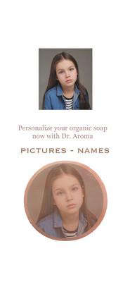 Personalized Organic Soap