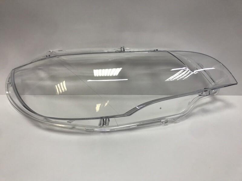 Правое стекло фары на BMW X6 E71 Hella (2007-2014)