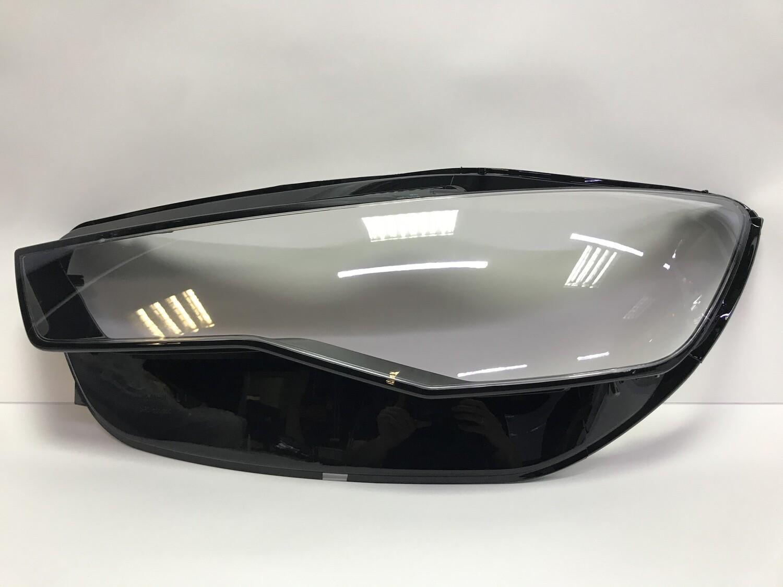 Левое стекло фары на AUDI A6 C7 рестайлинг (2014-2018)