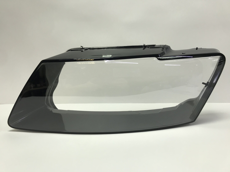 Левое стекло фары на AUDI Q5 рестайлинг (2013-2017)