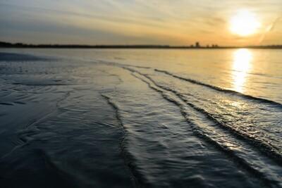 Get Up Nation Mindfulness Puzzle - Shoreline at Dawn