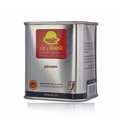 Paprika fumé premium, intensité forte, 70gr, La Chinata