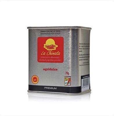 Paprika fumé premium, intensité medium, 70gr, La Chinata