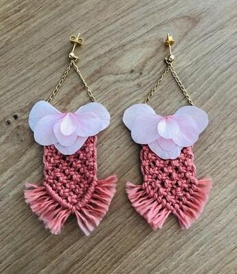 """Boucles d'oreilles """"Butterfly"""""""