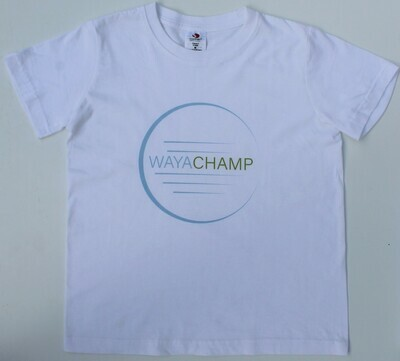 White Junior Tee