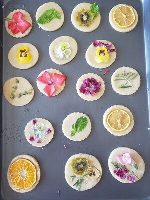 Vanilla Infused Honey and Earl Grey Cookies